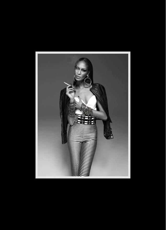 Monday Weekly China Joan Smalls in Balmain by John Paul Petrus