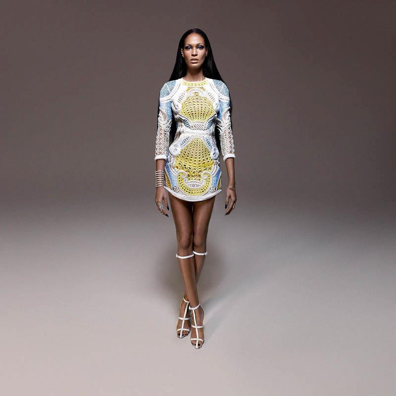 Monday Weekly China Joan Smalls in Balmain