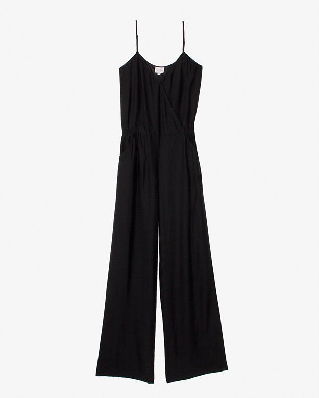 Parker silk jumposuit