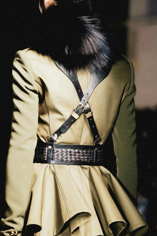 Prabal Gurung Fall 2013 fur collar