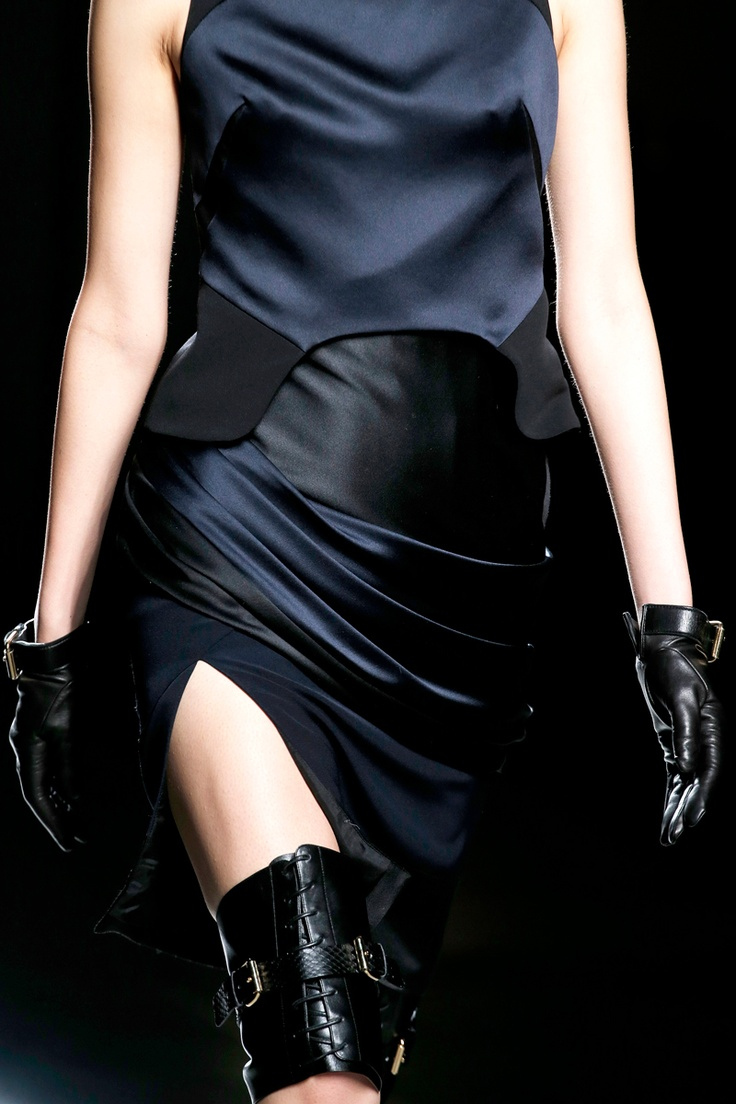 Prabal Gurung Fall 2013 satin dress