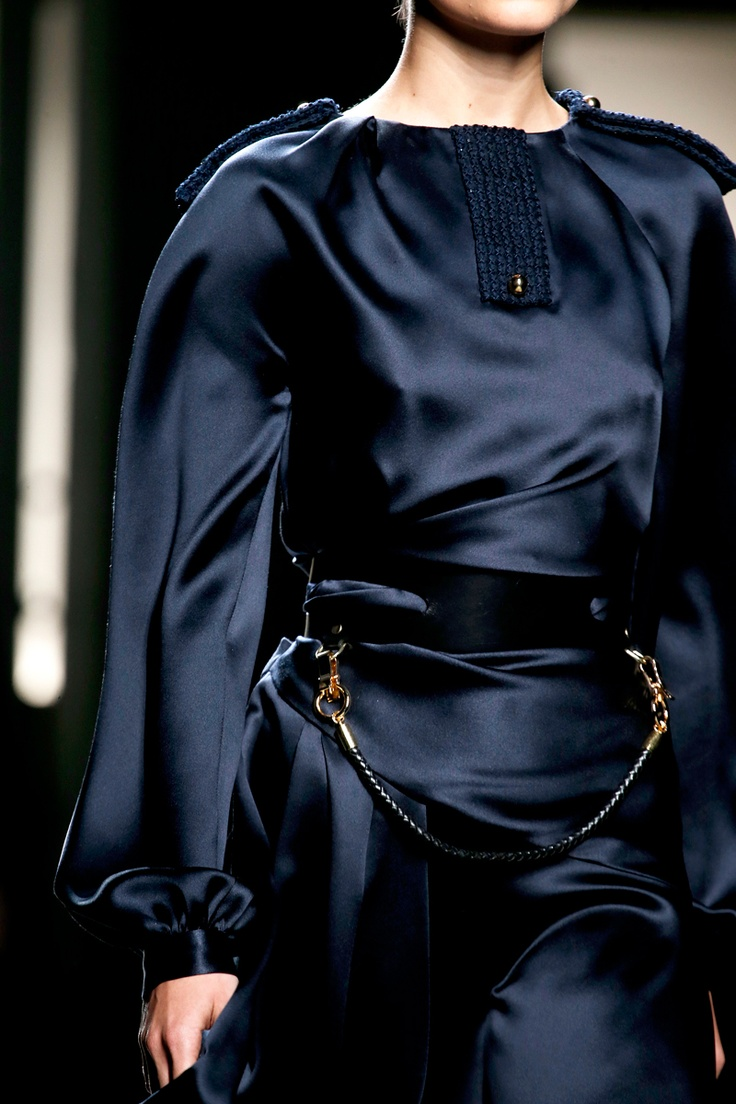 Prabal Gurung Fall 2013 satin
