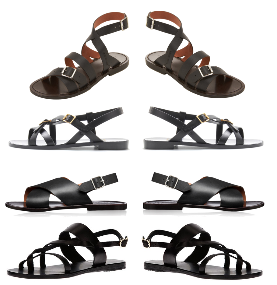 Sandals - Marni, Saint Laurent, Ancient Greek Sandals