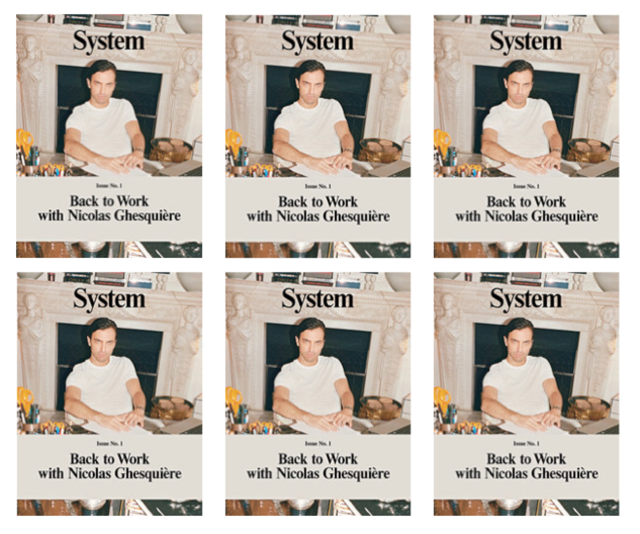 System issue 1 Featuring Nicolas Ghesquiere