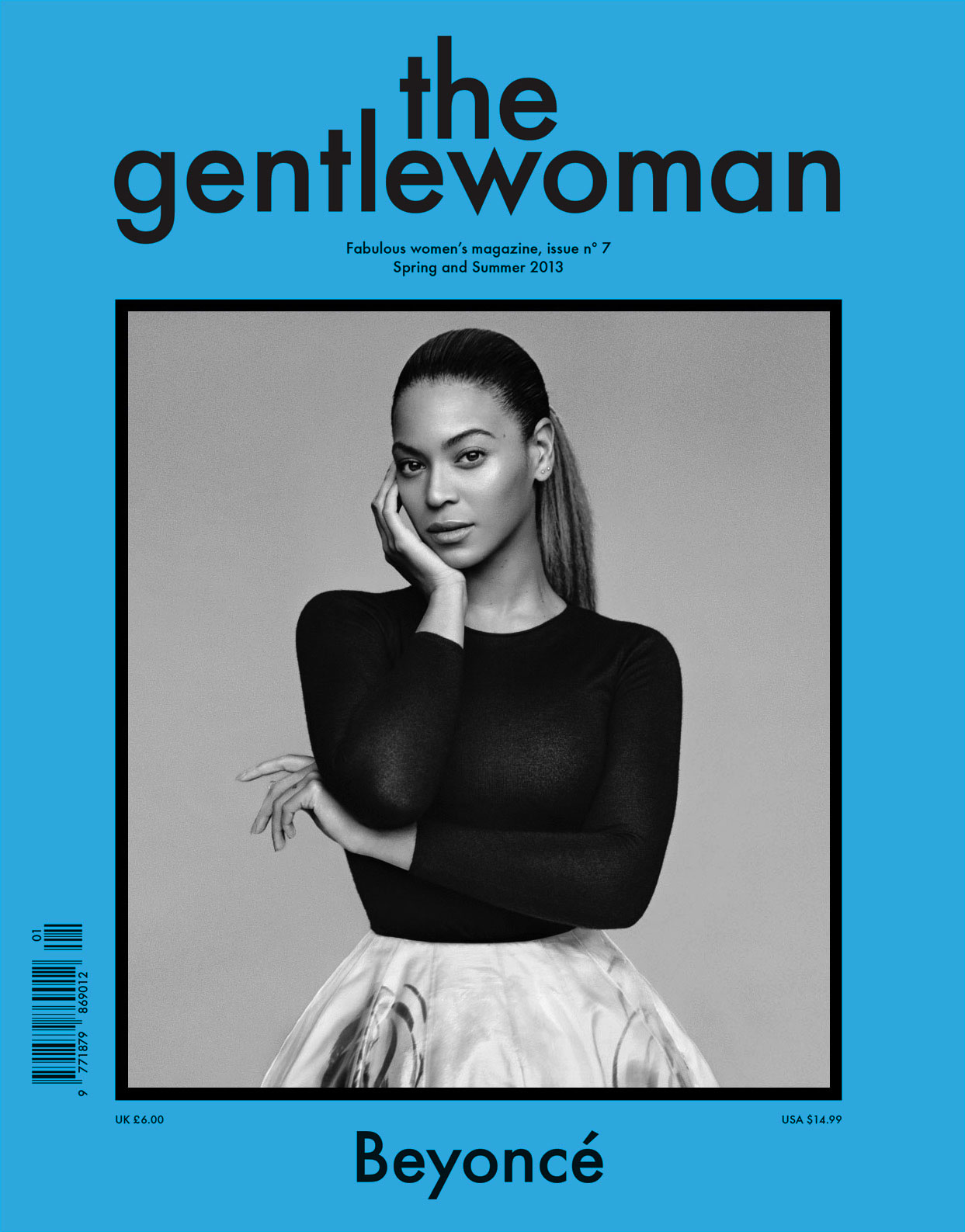 The Gentlewoman Cover Spring and Summer 2013 Beyoncé