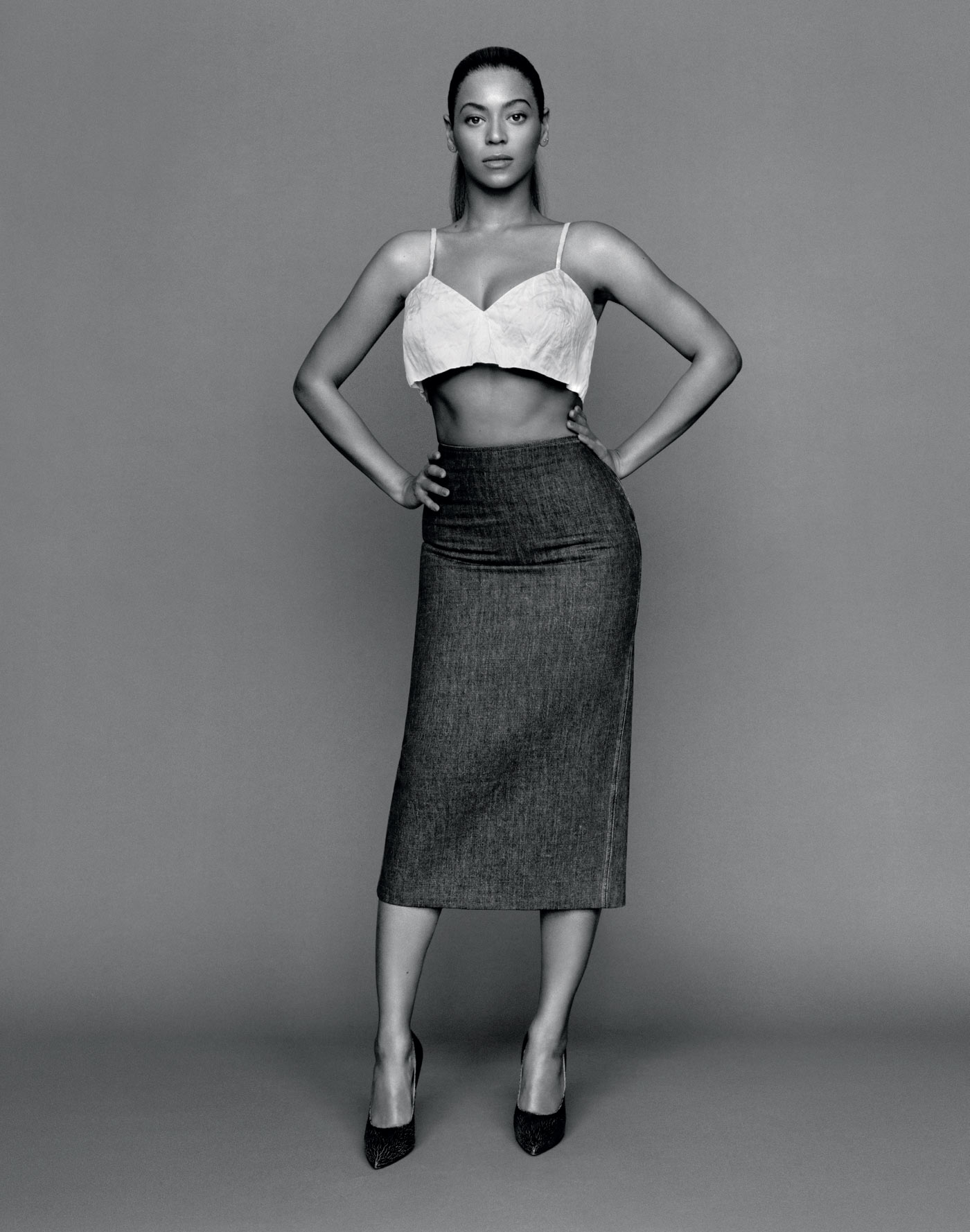 The Gentlewoman Spring and Summer 2013 Beyonc skirt