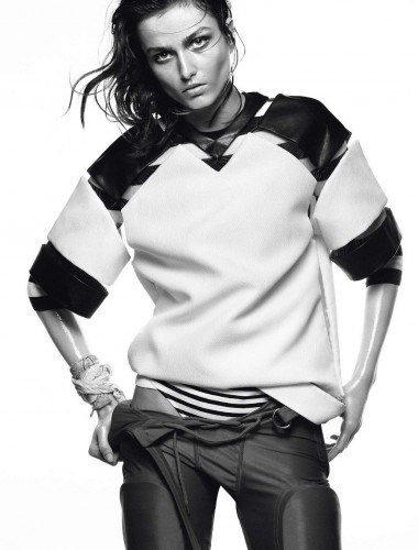 Vogue Paris May 2013 Andreea Dicaonu by David Sims