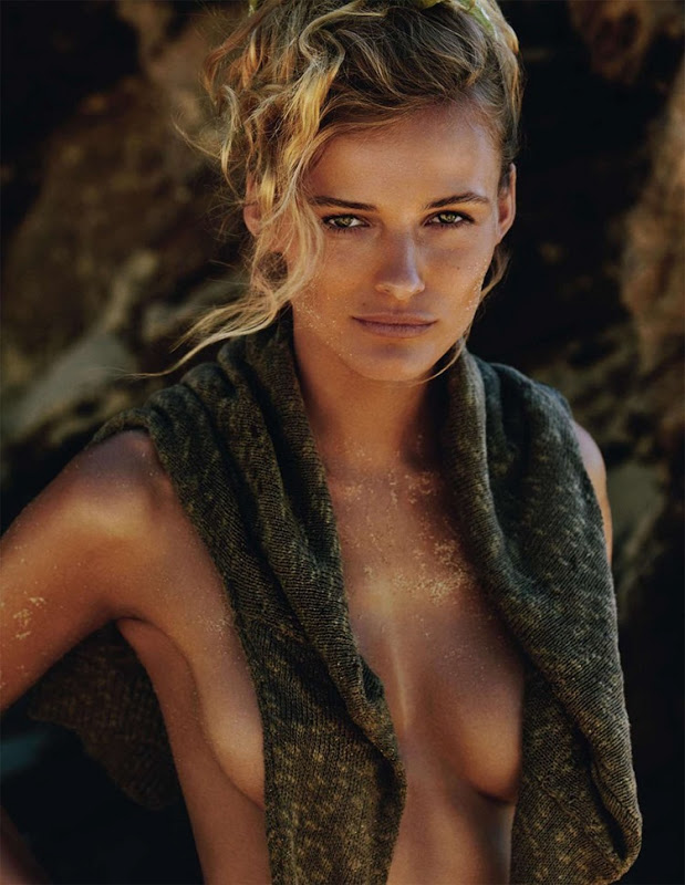Edita Vilkeviciute for Vogue Paris Supplement June:July 2013 by Gilles Bensimon