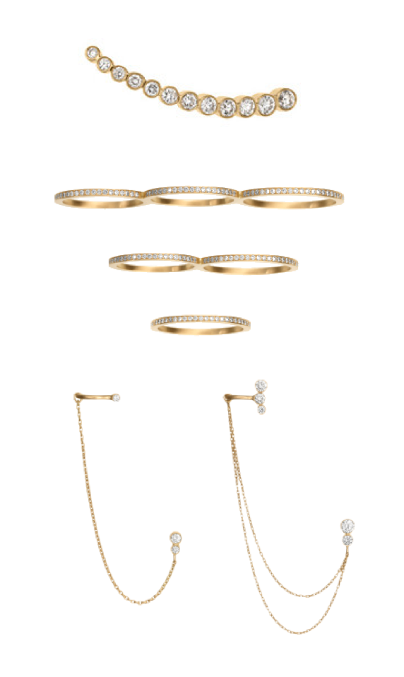 Sophie Bille Brahe gold jewelry