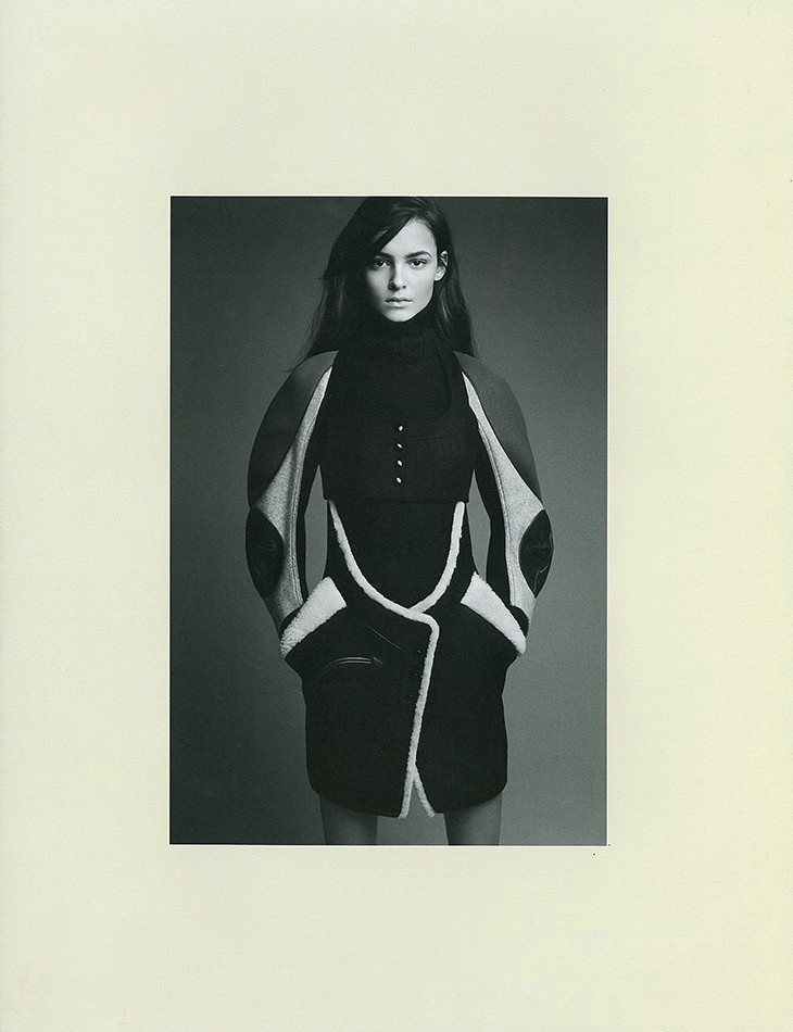 System issue 1 by Patrick Demarchelier Balenciaga styled by Marie-Amélie Sauvé Fall 2003
