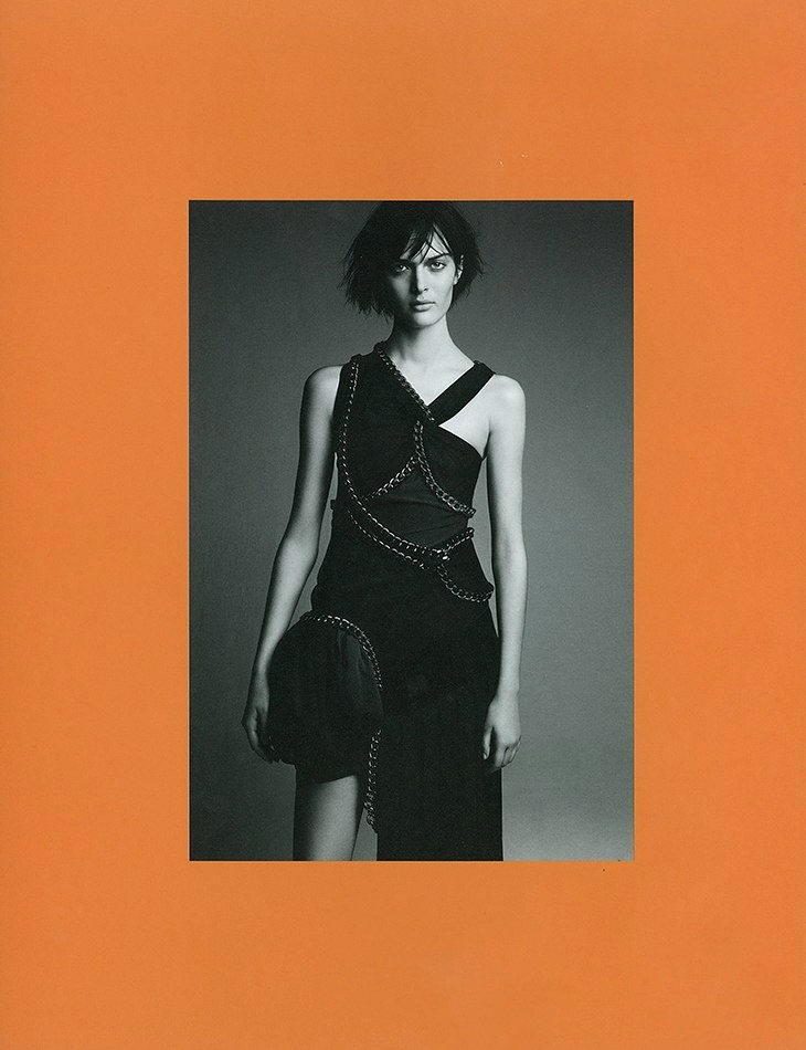 System issue 1 by Patrick Demarchelier Balenciaga styled by Marie-Amélie Sauvé Fall 2004