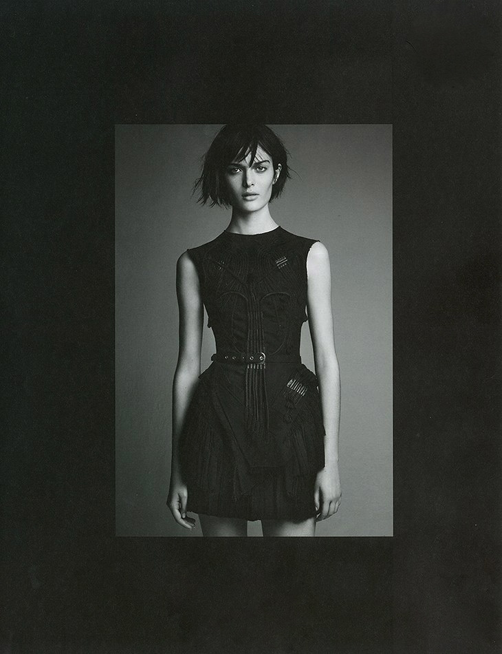System issue 1 by Patrick Demarchelier Balenciaga styled by Marie-Amlie Sauv FW 2002