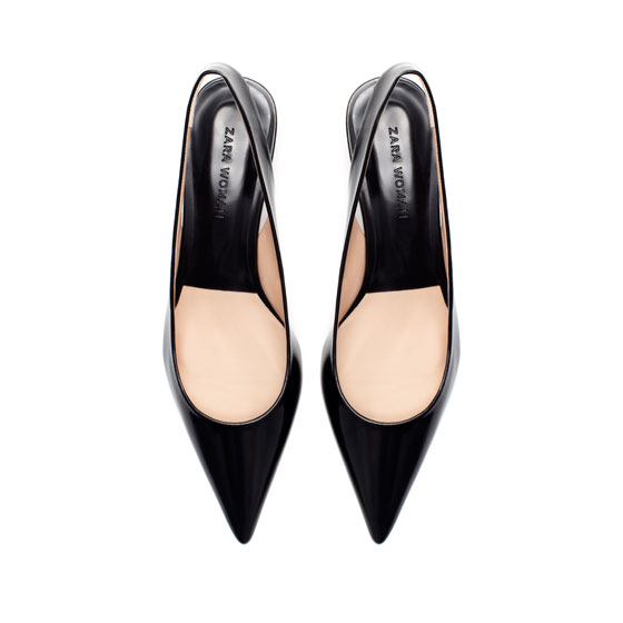 Zara pointy pumps