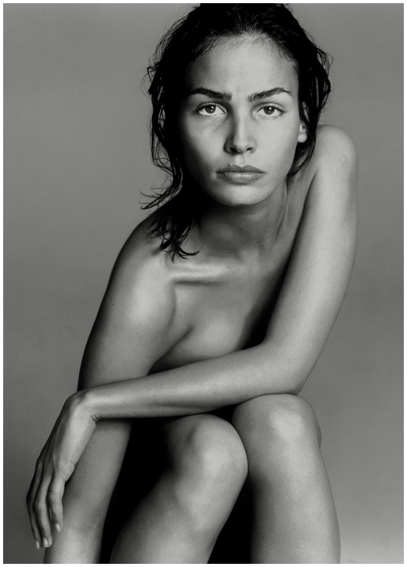 Ines Sastre for April 1997 Pirelli calendar