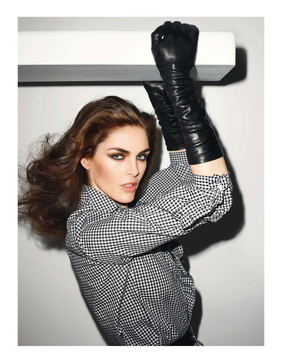 Vogue Paris June:July 2013 Hilary Rhoda by Terry Richardson-4