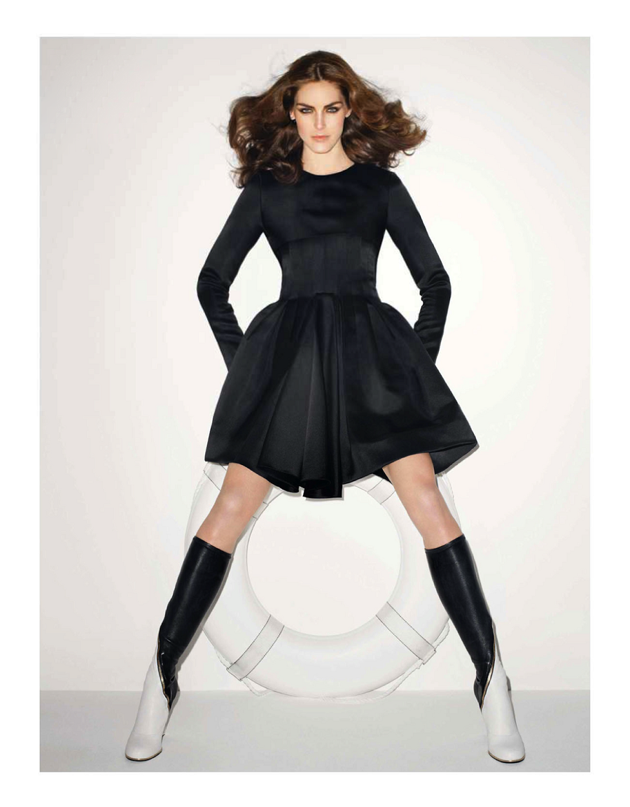 Vogue Paris June:July 2013 Hilary Rhoda by Terry Richardson-5
