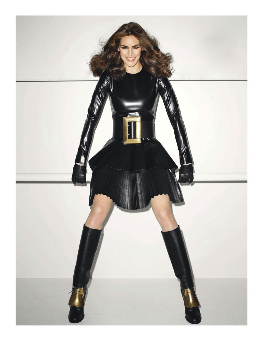 Vogue Paris June:July 2013 Hilary Rhoda by Terry Richardson