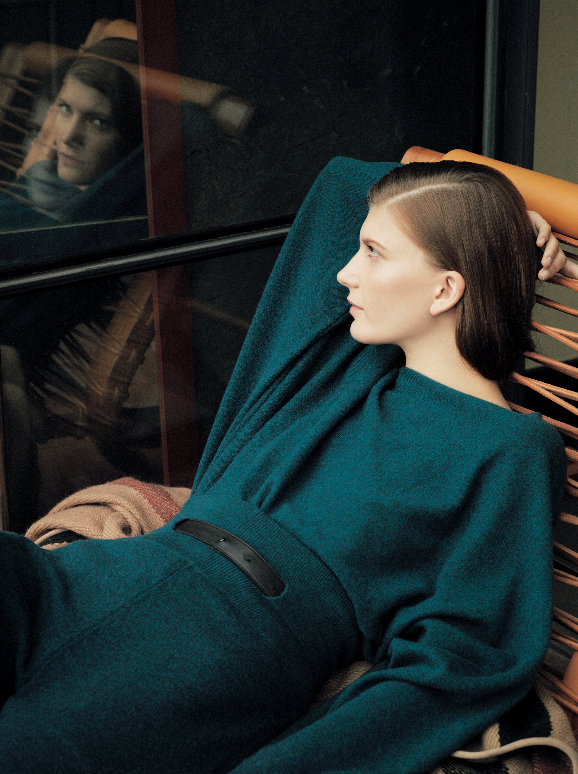 Hermès Winter 2012 catalogue Valerija Kevala by Zoe Ghertner-1
