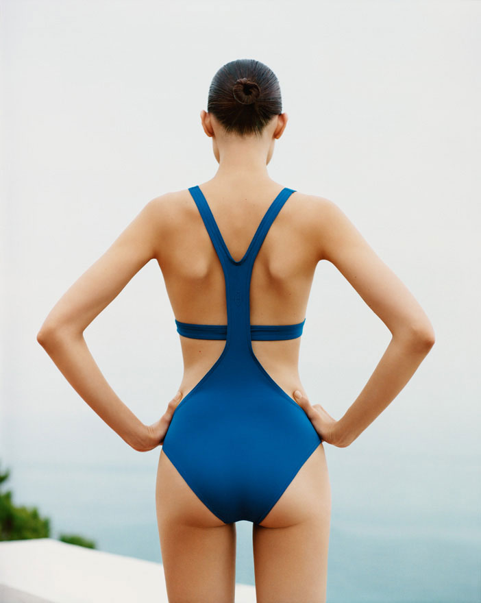 Hermes tumblr spring 2013 blue bathing suit