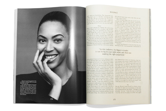 The Gentlewoman issue 7 Beyoncé Knowles-1
