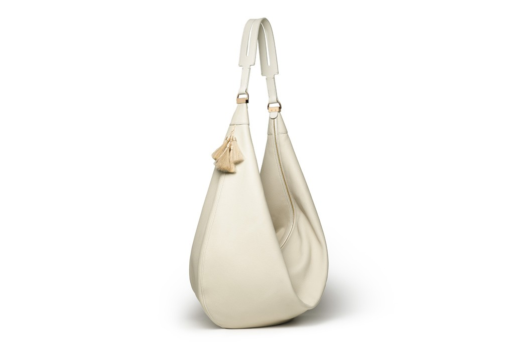The Row SS14 hobo bag white