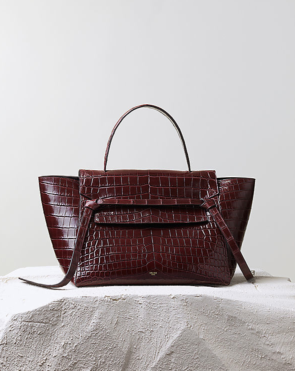 Céline Pre-Fall 2014 belt tote knot bag