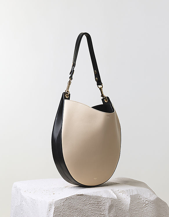 Céline Pre-Fall 2014 bicolor hobo bag