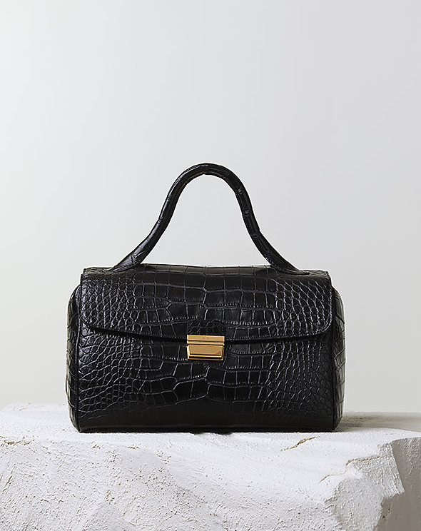 Céline Pre-Fall 2014 crocodile top handle bag