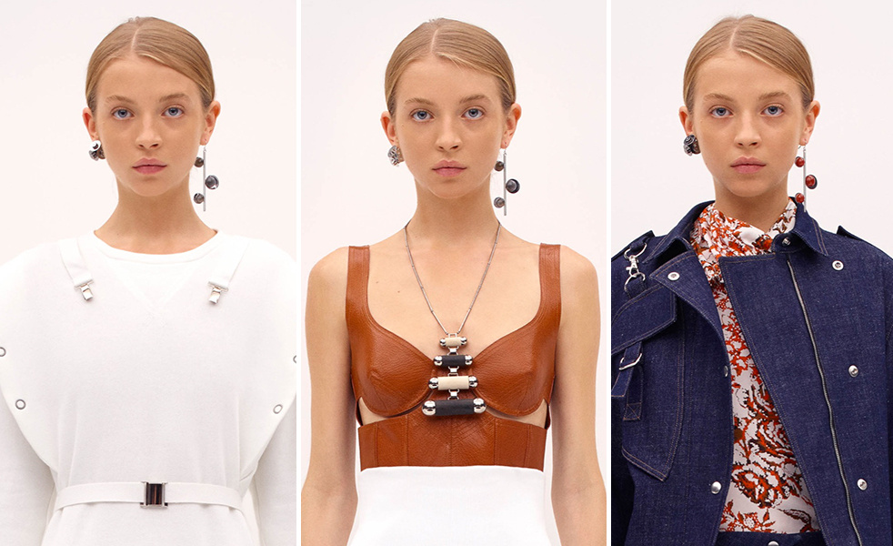 JW Anderson pre-fall 2015 earrings
