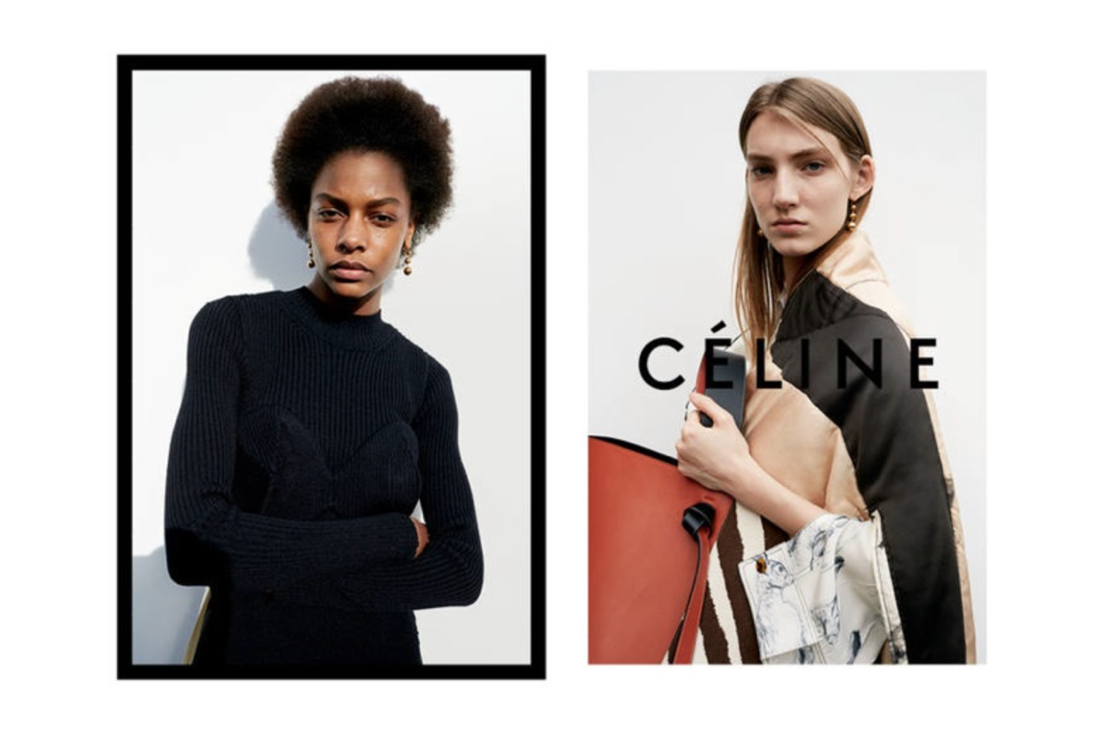Celine Winter Campaign 2015 by Juergen Teller