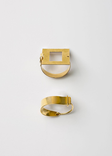 Celine slide brass jewellry