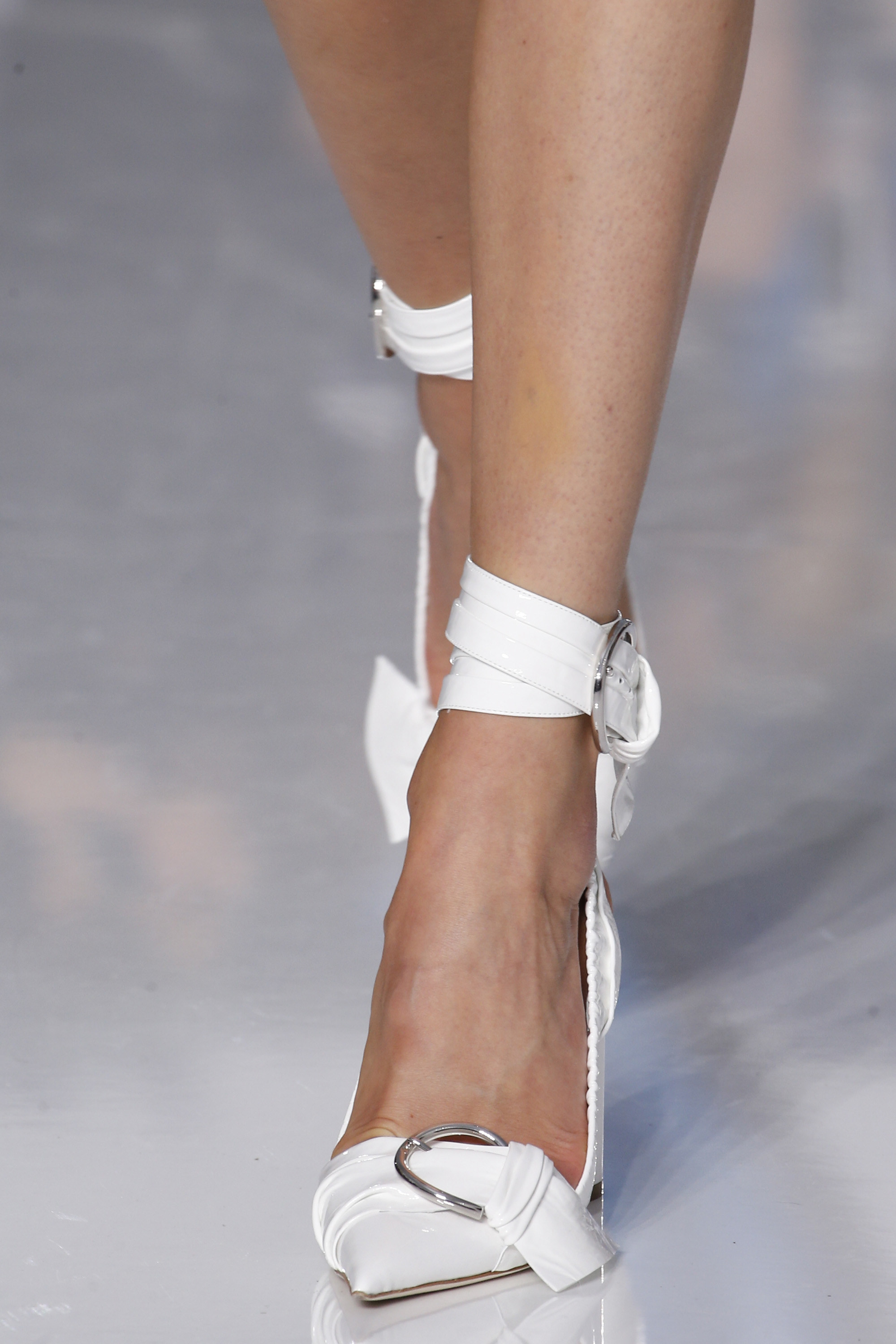 Dior spring 2016 shoes white